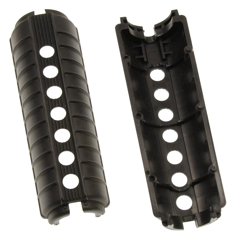 Handguard, Black Plastic, w/o Heat Shield - Very Good Condition, Pair