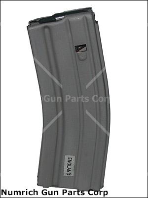 Magazine, 5.56/.223, 30 Round, Gray Parkerized Steel (w/ Plastic Follower)