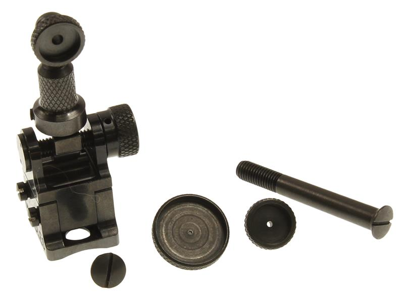 Peep Tang Sight - Mfg. By Marbles, Fully Adjustable For Windage & Elevation.