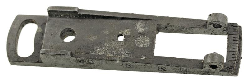 Rear Sight Movable Base, Rifle, Used (Wide Slot)