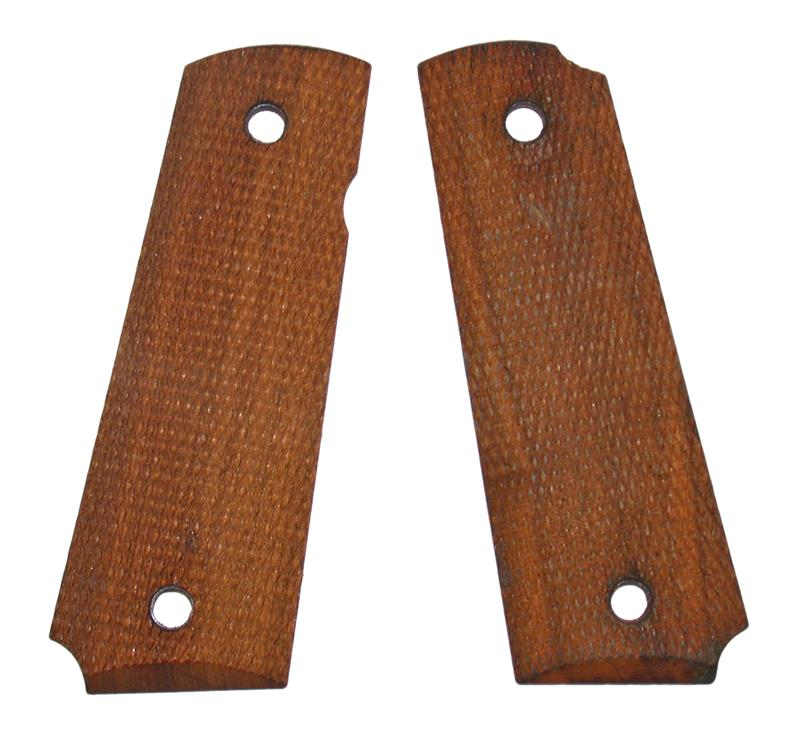 Grips, Fully Checkered Walnut w/o Medallion - Used Reproduction