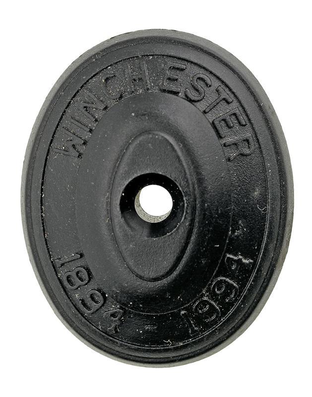 Grip Cap, Marked 1894-1994, Black Plastic