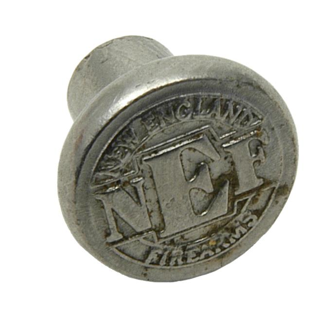 Grip Medallion, Silver NEF, Used Factory Original