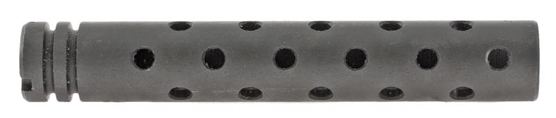 Flashhider, 5-1/2'', Blued, New Reproduction (Incl 3 5-Hole Rows; 3 6-Hole Rows)