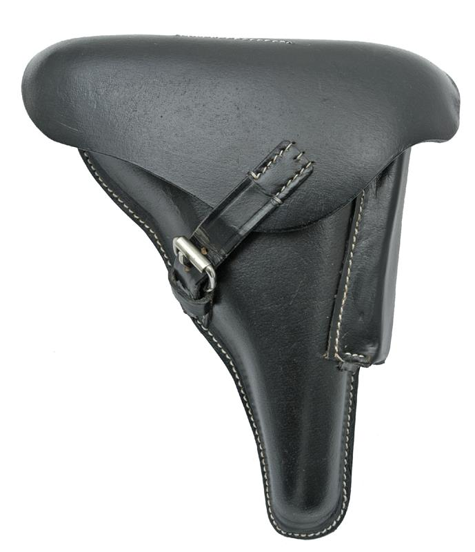 Holster, Black Leather, Reproduction of the Original WWI 4