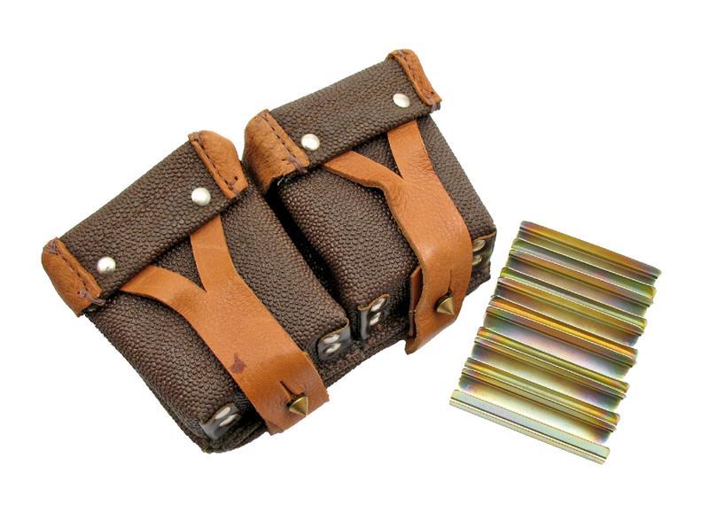 Stripper Clip & Pouch Set, 2 Pocket