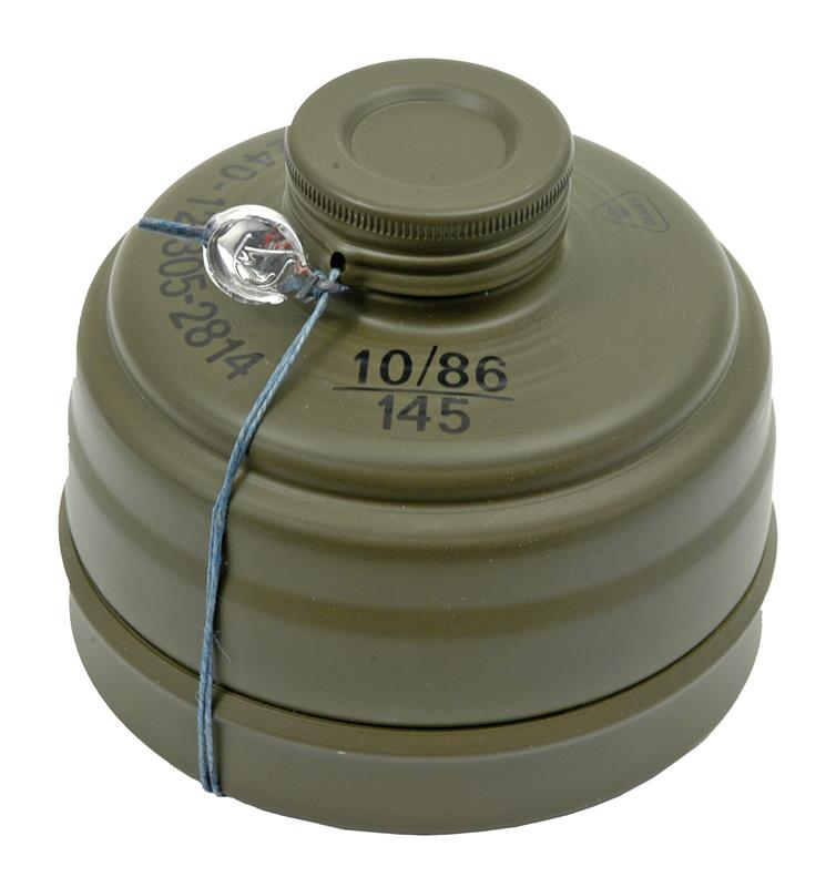 Drager 40mm NBC Gas Mask Filter Canister