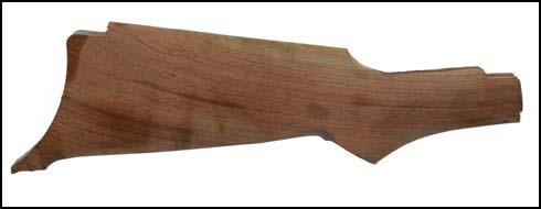 Stock, Semi-Finished Pistol Grip, Walnut