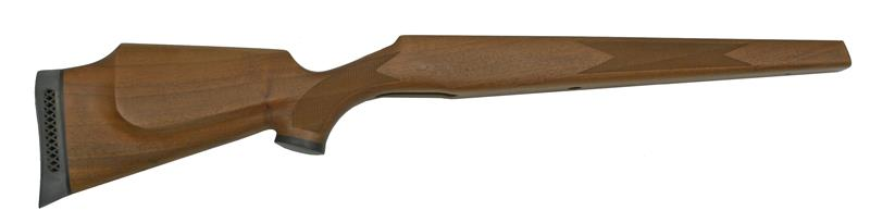 Stock, Long Action, LH, Checkered Walnut, Monte Carlo Cheekpiece, Palm Swell