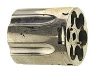 Cylinder, .38 Spec, Stripped, Nickel