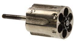 Cylinder, .38 Spec, 6 Shot, Old Style, Nickel
