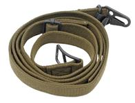 Sling, Green Canvas, 3-Point, Original, New
