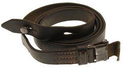 Sling, Original, Brown Leather w/ Buckle, Loop & Stud, Used Fair to Good