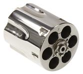 Cylinder & Extractor, .38 Spec, Nickel