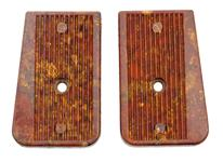Trigger Group Grip Panels, Brown Plastic, Unissued (Pair)