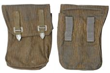 Magazine Pouch, Curved, Mixed Straight & Angled Belt Loops, Rainbow Camo