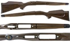 Stock, RH, Compact Model, L/A, MC Cheekpiece, (Fits Models w/Side Bolt Release)