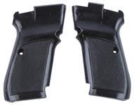 Grips, Black Plastic, Used Factory Original