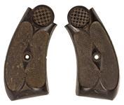 Grips, Diamond Pattern Around Screw, Used Factory Original