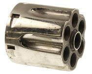 Cylinder, .38 Spec., Stripped, Old Style, Nickel, Used Factory Original