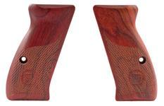 Grips, Compact, Coco Bolo, Half Checkered, New Factory Original (Compact)