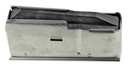 Magazine, 7mm RemMag, 3 Round, Stainless, New (Factory)