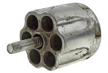 Cylinder Assembly, .32 Cal, 6 Shot, Nickel, Used, Original