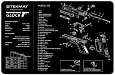 TekMat Handgun Mat, Glock