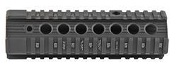 Bravo Battlerail Freefloat Quad Rail Handguard, Carbine, Black Aluminum (Troy Ind.)