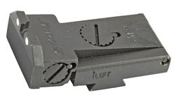 Rear Sight, Adjustable, Beveled Blade, WhiteDot (Fits LPA TRT Sgt Cut; Kensight)