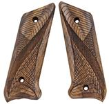 Grips, Checkered French Walnut w/Net Design, New Reproduction