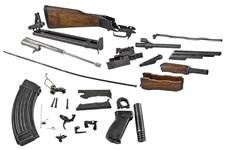 Complete Parts Kit-Includes Demilled Receiver & Barrel w/Bipod & 30 Round Mag