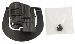 Holster, RH, Serpa Sportster, Gun Metal Gray, New (w/ Paddle; Blackhawk Mfg)