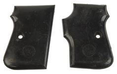 Grips, Smooth Black Plastic, Used Factory