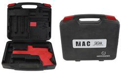Gun Case, Marked Metroarms Mac 3011., Black Plastic, Used Factory