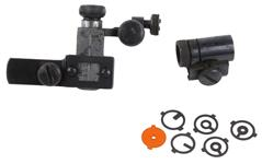 Receiver & Front Sight Set, Olympic Rear Sight, Globe Front Sight Used Redfield