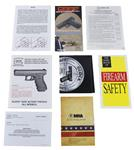Manual, Safety & Instruction for Glock Pistols, New