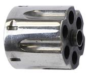 Cylinder Assembly, .44 Mag, Counterbored, LH Thread Extractor, Nickel