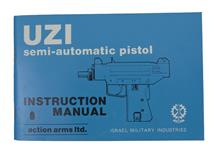 UZI 9mm & 45 Semi-Auto Pistol Instruction Manual
