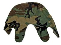 Helmet Cover, GI, Camo-Surplus Cotton To Fit All World War II & Later US Helmets