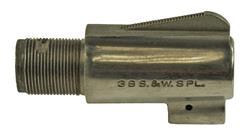 "Barrel, .38 Spec, 2"", Stainless (1/10"" Sight)"