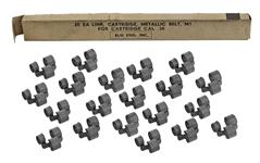 Links, .30-06, Parkerized Steel, New Unused Military Surplus (Pack Of 20)