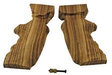 Grip, Small Frame, Target Style, Striped w/ Grip Screw & Escutcheon